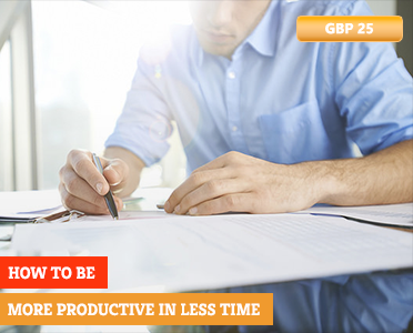 How to Be More Productive in Less Time - How To Learn Online