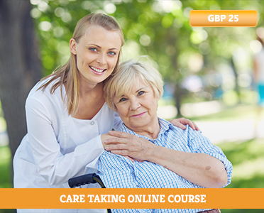 care taking online course - care taking - elderly care - highspeedtraining - how to learn online